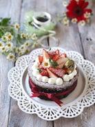 低糖質!材料4つ!生チョコスフレチーズケーキ