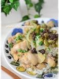 圧力鍋で作る「鶏手羽元と豆のスパイス煮」