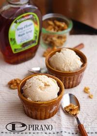 『メープルくるみのアイスクリーム♪』