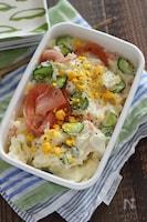 長芋で作るポテトサラダ