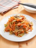 生姜たっぷり!野菜の味噌炒め