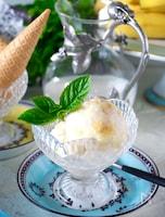 【材料2つ】冷凍庫に入れるまで5分!バナナアイスクリーム