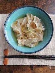 じゅんわり出汁の野菜水餃子