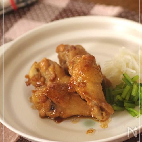 鶏骨付き肉のやわらか黒酢煮