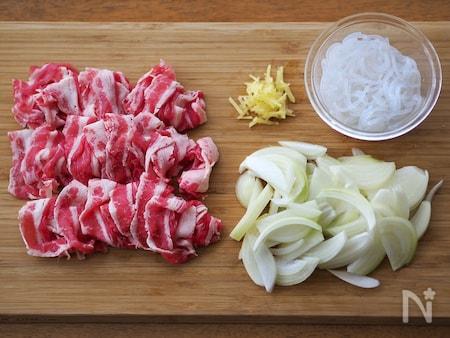 牛丼の作り方