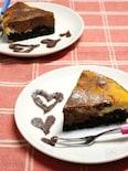 簡単♪濃厚♪チョコマーブルチーズケーキ★