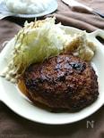 肉汁うま!マヨワインめんつゆハンバーグ(作りおき常備菜)