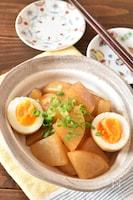 しみしみ大根と卵の甘辛うま煮