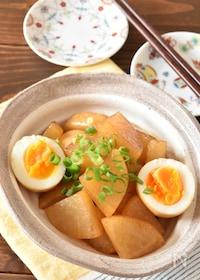『しみしみ大根と卵の甘辛うま煮』