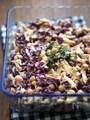 蒸し鶏とひよこ豆のアリオリ