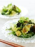 アボカドとレタスのチョレギサラダ