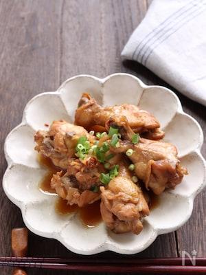 圧力鍋レシピ ポン酢ベースで鶏手羽元のさっぱり煮