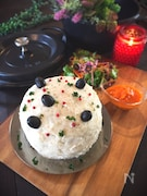 パーティやイベントに♪バーミキュラでミートローフケーキ