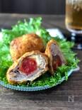 天ぷら粉でカンタン♡サックサクなミニトマクリチの肉巻きフライ