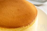 割れない♪スフレチーズケーキ 生クリームなし
