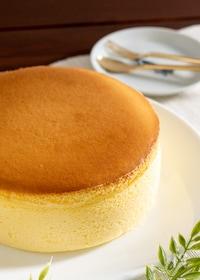 『割れない♪スフレチーズケーキ 生クリームなし』