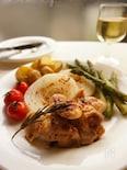 春野菜とチキンのロースト バルサミコソース