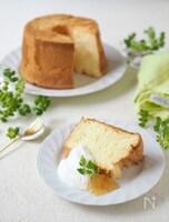 マーマレード シフォンケーキ