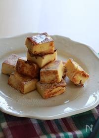 『高野豆腐でフレンチトースト』