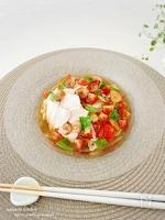 いつもの食べ方に飽きたら!【簡単】イタリアンぶっかけ素麺