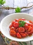 簡単常備菜!プチトマトのすし酢マリネ