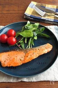 フライパンで簡単☆ごはんがすすむ◎鮭のハーブソテー