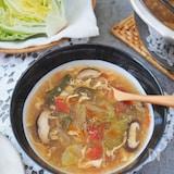 レタス大量消費!さっぱり酸辣湯スープ