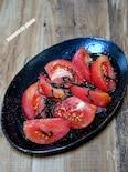 トマトが主役の「トマトの塩こんぶサラダ」
