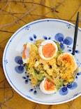 かぼちゃと卵のデリ風サラダ
