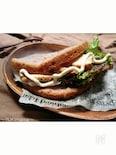 五穀食パンで〜鶏むね肉のローストチキンサンド〜
