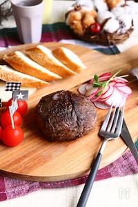 びっくり!カマンベールチーズステーキ