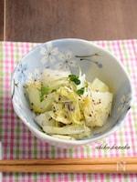 白菜とカイワレ大根のゆかり和え