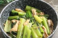 小松菜と舞茸のうま味煮