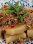 牛肉と大根のオイスター炒め