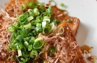 カリッとごちそう!甘辛豆腐ステーキ