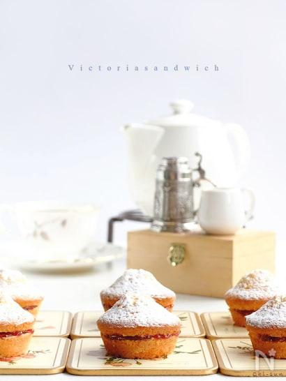 小さめのヴィクトリアサンドイッチケーキ