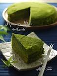 和風テイスト抹茶の濃厚☆デビルズケーキ