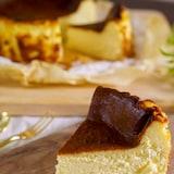 【材料5つ】混ぜるだけ!天使の食感のバスクチーズケーキ