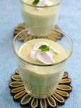 マシュマロでふわふわなアボカドジュース