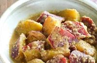 甘みと香りのやさしい味『さつまいものごま煮』