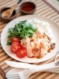 ダッチオーブンで海南鶏飯