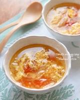 トマトと卵の夏スープ