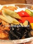 鶏肉と野菜の甘酢ダレ
