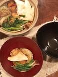 甘辛でじっくり温まる、甜麺醤の味噌おでん。最後は雑炊で