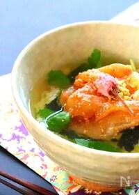 『【簡単和食】鯛茶漬けのレシピ』
