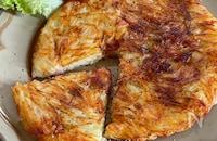 生ハムとチーズのじゃが芋ガレット