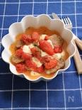 トマトとモッツァレラチーズのポークソテー