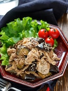 豚こまとなすの甘辛生姜焼き【#作り置き #お弁当】