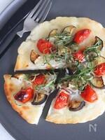 和風マッシュポテトピザ