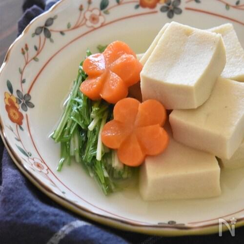白だしで簡単☆高野豆腐のうま煮【冷凍・作り置き】